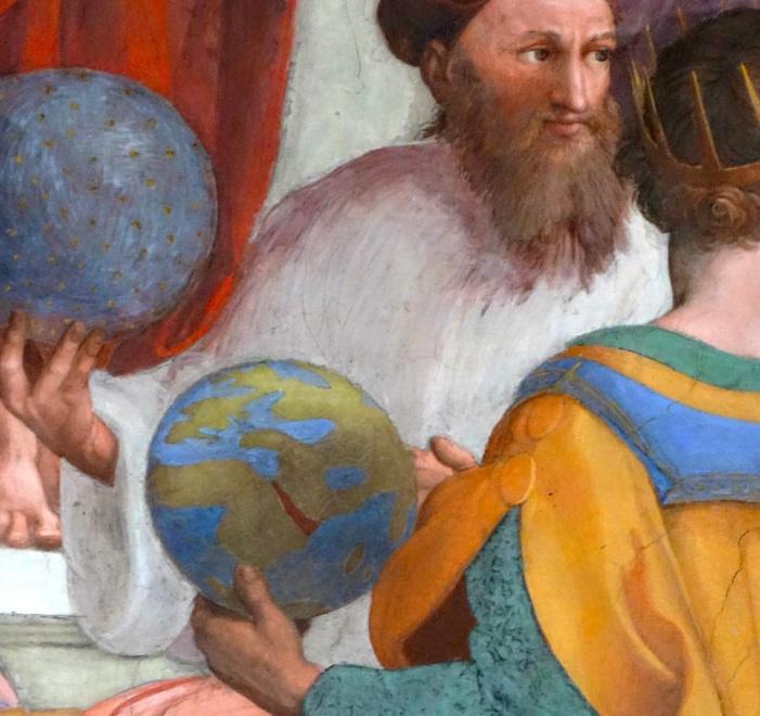 Image: Raphael, School of Athens (detail). Vatican Museum, Vatican City.