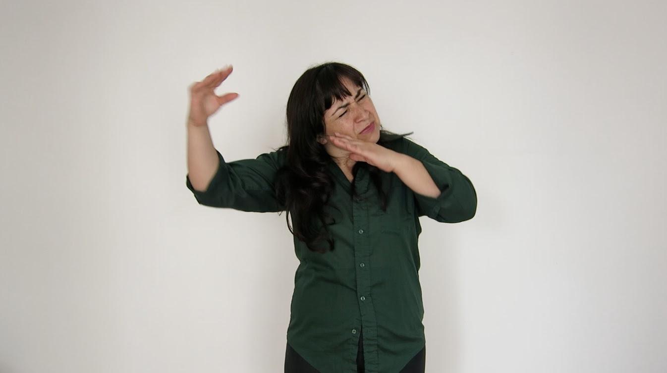 Video still Francisca Benitez,Décimas Telúricas, 2010.