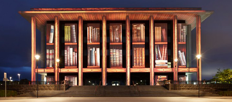 View of the National Library of Australia