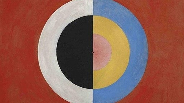 'The Swan No. 17': a painting by Hilma af Klint
